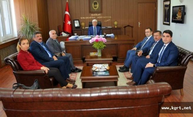 Ahilik Haftası Kutlama Komitesi Vali Murat Koca'yı Ziyaret Etti