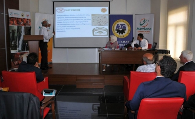 """""""Coğrafi İşaretler Türkiye Uygulamaları Ve Karaman Deneyimi"""" Konulu Panel Düzenlendi"""