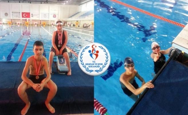 Karamanlı Yüzücüler Engel Tanımıyor