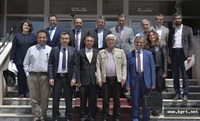 KMÜ'de UNİKOP Enstitü Müdürleri Toplantısı Yapıldı