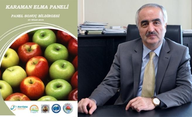 MEVKA Karaman Elma Panelinin Sonuç Bildirgesini Yayınladı