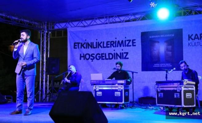 Karaman'da Ramazan Bir Başka Güzel