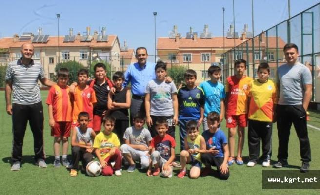 Kısacık: Karamanlı Çocukları Spor Dolu Bir Yaz Bekliyor