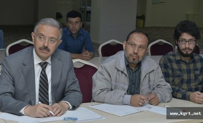 KMÜ'de İslam Felsefesi Semineri Düzenlendi