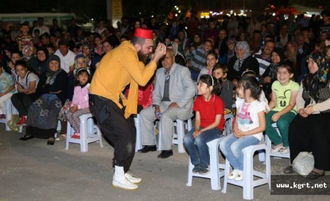Ramazan Etkinliğinde Çocuklar Doyasıya Eğlendi