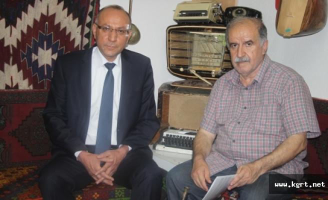 Rektör Adayı Çevik'ten KGRT'ye Ziyaret