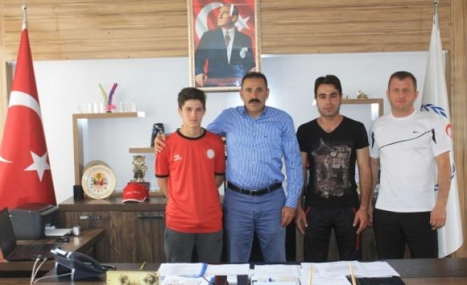 Teber, Wushu Balkan Şampiyonasında Karaman'ı Temsil Edecek