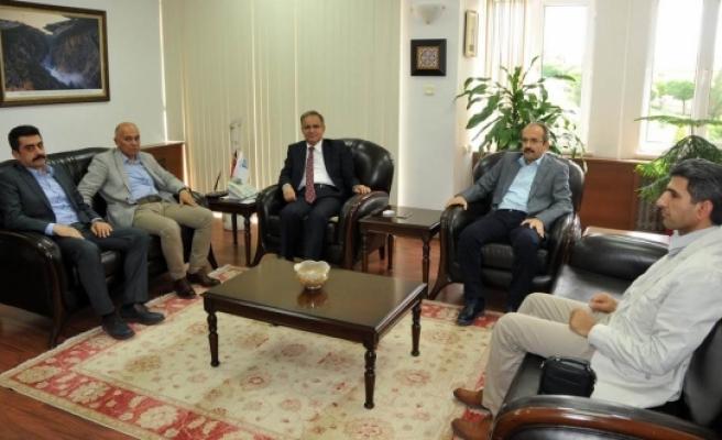 Vali Süleyman Tapsız'a Hayırlı Olsun Ziyaretleri Sürüyor