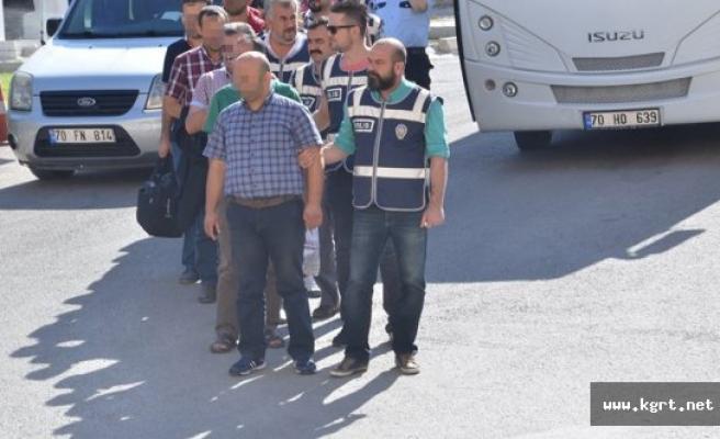 Karaman'da FETÖ Operasyonunda 10 Tutuklama