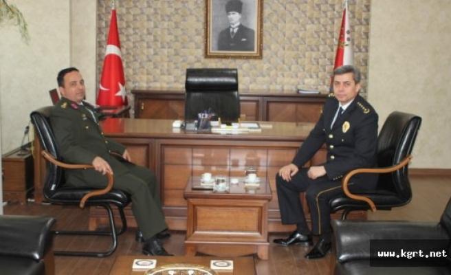 Albay Şen'den Tutuk'a Hoşgeldin Ziyareti