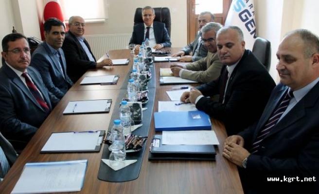 Teknopark Şirketi Yönetim Kurulu Toplantısı Yapıldı