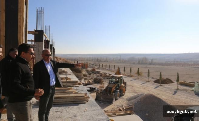 """Başkan Çalışkan: """"Seyir Terasları Karaman'ın Gözde Mekânlarından Olacak"""