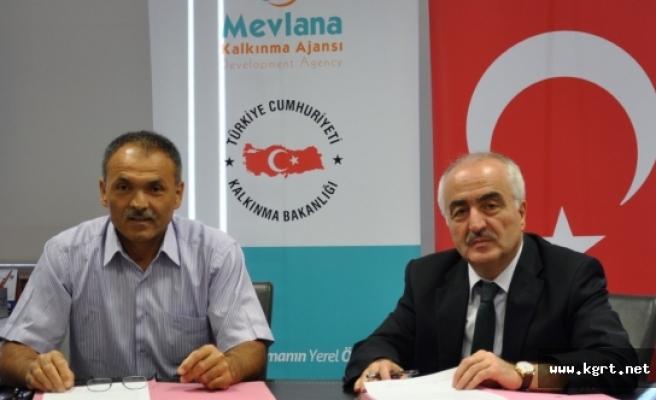 """MEVKA """"Ermenek'te Organik Tarım"""" Projesine Teknik Destek Sağladı"""