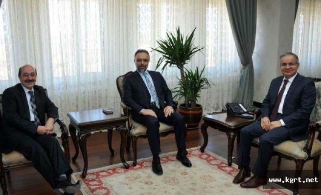YÖK Heyetinden Vali Tapsız'a Ziyaret