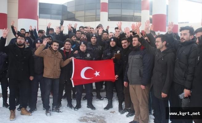 KMÜ Öğrencilerinden Halep'e İlişkin Basın Açıklaması