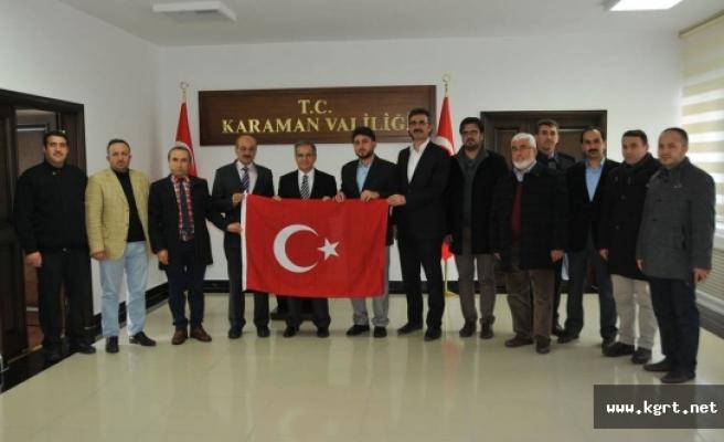 Sivil Toplum Kuruluşlarından Vali Tapsız'a Ziyaret