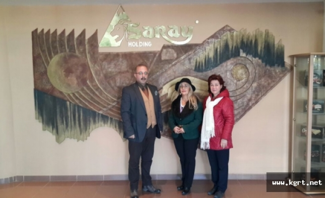 Türk Kadınlar Birliği Üyelerinden Saray Bisküvi'ye Ziyaret