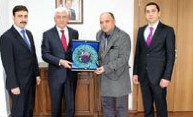 Besir Dernegi Karaman Subesinden Nezaket Ziyareti