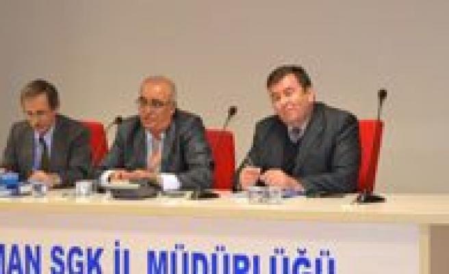 SGK Il Müdürlügünce Tescil Uygulamalari Egitimi Verildi