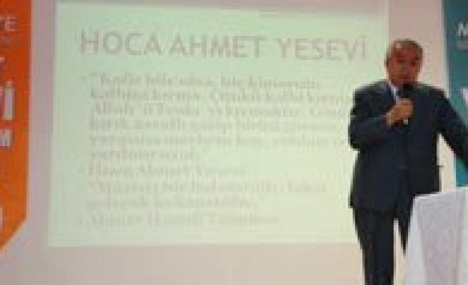 Hoca Ahmed Yesevi Konferanslari Basladi