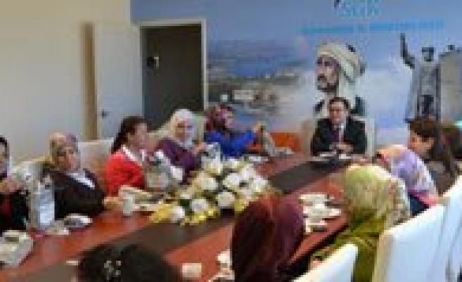 Karaman SGK'da 8 Mart Dünya Kadinlar Günü Kutlandi