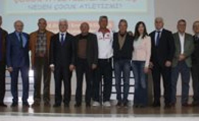 IAAF Çocuk Atletizmi Semineri Karaman'da Basladi
