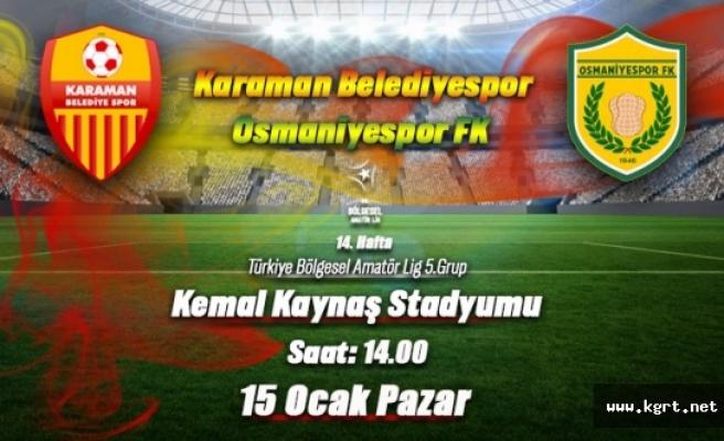 Karaman Belediye Spor Lideri Devirmenin Peşinde