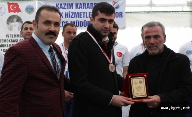 Şehit Muhammed Yalçın Futbol Turnuvası Sona Erdi