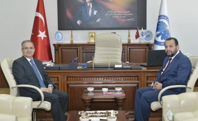 Vali Tapsız'dan KMÜ Rektörü Akgül'e İade-i Ziyaret