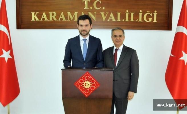 Bakan Yardımcısı Boynukalın'dan Vali Tapsız'a Ziyaret