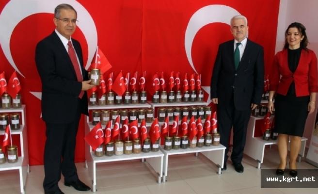 """KMÜ Uygulama Anaokulundan """"Vatan Toprağı """"Sergisi"""