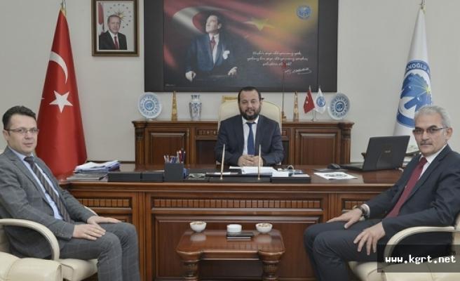 Konya Orman Bölge Müdüründen Rektör Akgül'e Tebrik