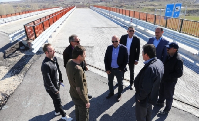 Mut Yolu Köprülü Kavşağı'nda Çalışmalar Tekrar Başladı
