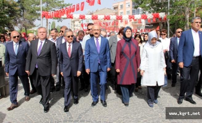 740. Türk Dil Bayramı Ve Yunus Emre'yi Anma Etkinlikleri Coşkuyla Kutlandı
