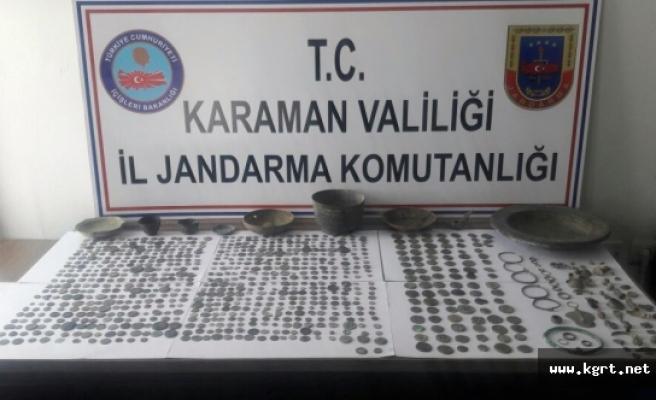 Karaman'da Tarihi Eser Kaçakçılığı