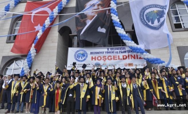 KMÜ Kazım Karabekir Meslek Yüksekokulunda Mezuniyet Töreni