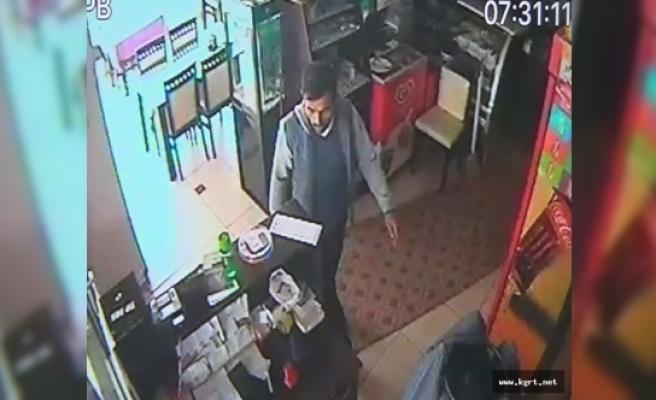Balık Restoranına Giren Hırsız, Kasada Bulunan Bozuk Paraları Çaldı