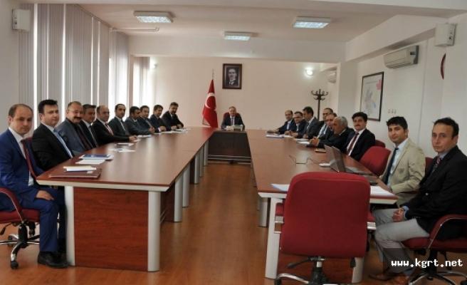 KÖYDES Tahsisat Komisyonu Toplantısı Yapıldı