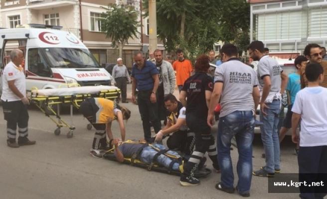 Trafik Kazalarında 2 Kişi Yaralandı