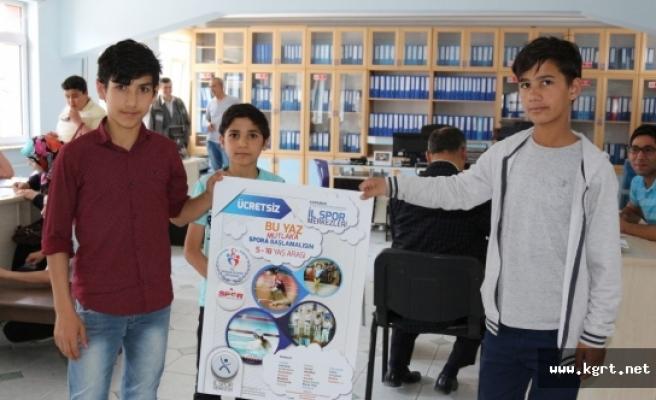 Ücretsiz Yaz Spor Okullarına Gençlerden Yoğun İlgi