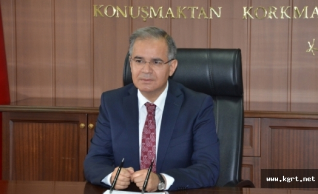 Vali Tapsız: Karaman'ın İl Oluşunun 28. Yılı kutlu Olsun