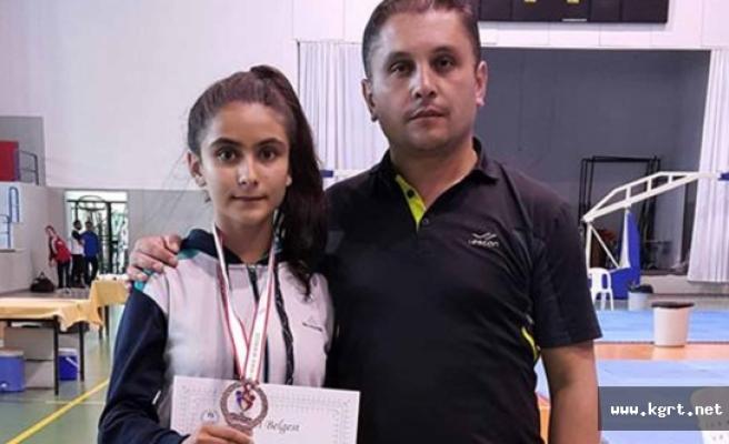 Zehra Yılmaz, Tekvando'da Türkiye Üçüncüsü