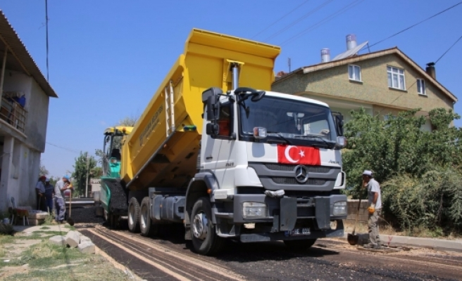 Asfalt Çalışmaları Yenişehir Ve Sümer Mahallesi'nde Devam Ediyor