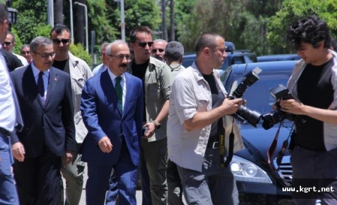 Bakan Elvan: Mut-Sertavul-Karaman Yolunda İyileştirme, Tünel Ve Viyadük Çalışmaları Başladı