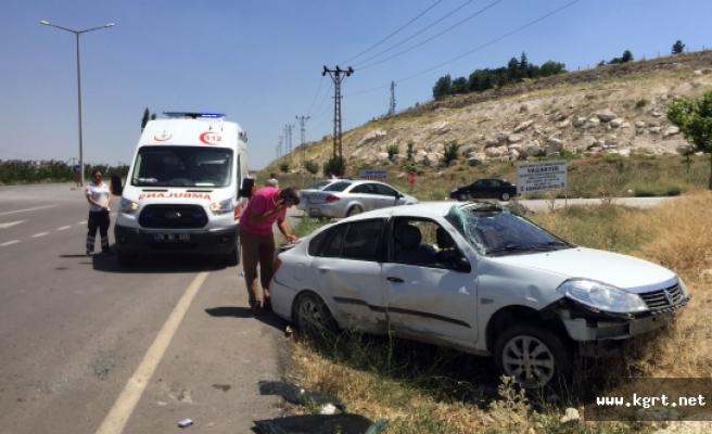 Dört Kez Takla Atan Otomobilden Burnu Dahi Kanamadan Çıktı