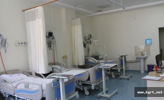Hastanenin Yoğun Bakım Ve Palyatif Bakım Servislerinde Yatak Sayıları Artırıldı
