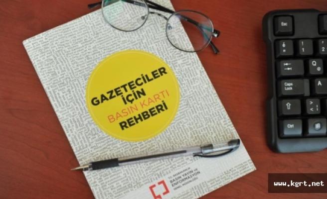 BYEGM'den 'Gazeteciler İçin Basın Kartı Rehberi'