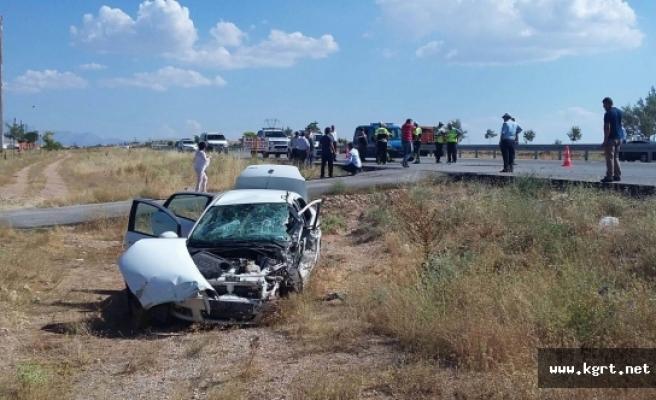 FETÖ Şüphelisinin İçinde Bulunduğu Polis Aracı Kaza Yaptı: 4 Yaralı