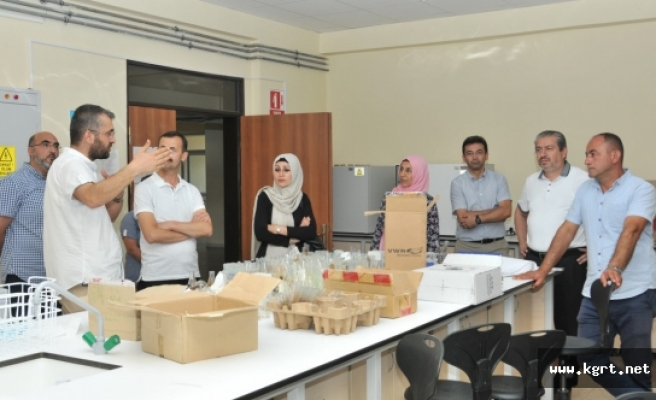 HOKAF Yetkililerinden Rektör Akgül'e Ziyaret