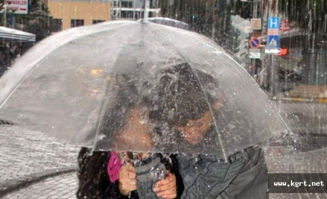 Karaman Valiliğinden Sağanak Yağış, Kuvvetli Rüzgar Ve Dolu Uyarısı